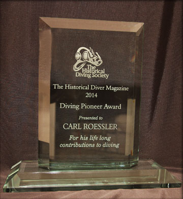 2014 Fall DEMA Diving Pioneer Award