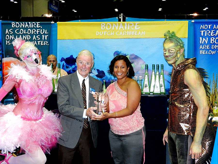 Carl's Bonaire Lifetime Achievement Award